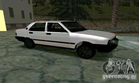 Tofas Sahin Taxi для GTA San Andreas вид слева