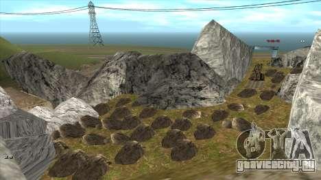 Трасса Offroad v1.1 by Rappar313 для GTA San Andreas десятый скриншот