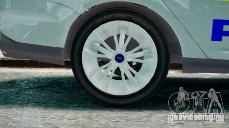 Met Police Ford Focus Estate IRV ELS 8 2013 для GTA 4 вид сзади слева