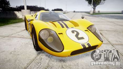Ford GT40 Mark IV 1967 PJ 2 для GTA 4