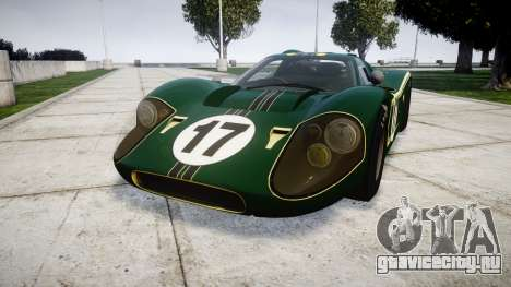 Ford GT40 Mark IV 1967 PJ 17 для GTA 4