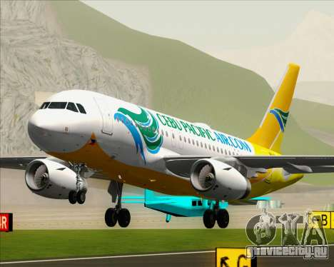 Airbus A319-100 Cebu Pacific Air для GTA San Andreas