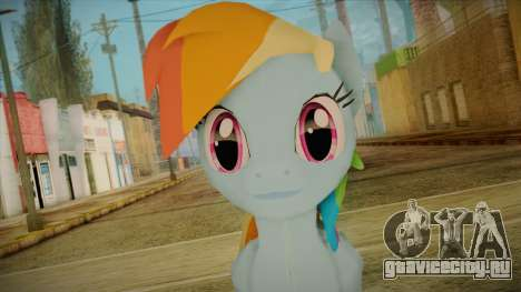 Rainbow Dash from My Little Pony для GTA San Andreas третий скриншот