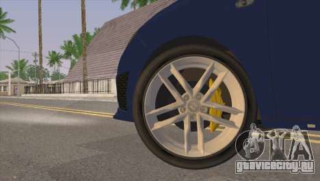 Seat Ibiza Cupra 2010 для GTA San Andreas вид сзади слева