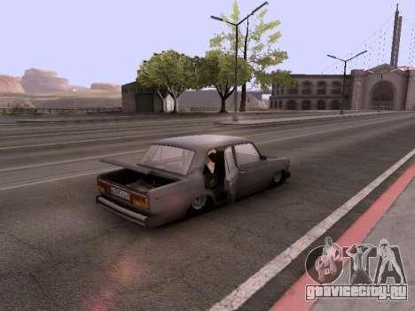 ВАЗ 2105 для GTA San Andreas вид сбоку