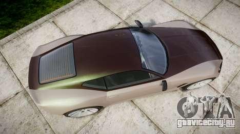 GTA V Lampadati Furore GT для GTA 4 вид справа
