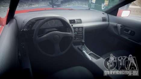 Nissan Skyline R32 GT-R для GTA 4 вид сзади
