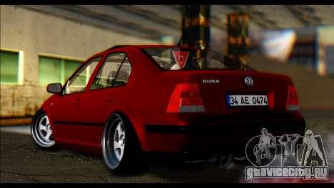 Volkswagen BorAir для GTA San Andreas вид сзади слева