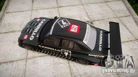 Mercedes-Benz 190E Evo II GT3 PJ 2 для GTA 4 вид справа