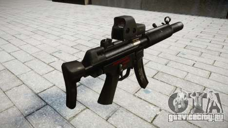 Пистолет-пулемёт MP5SD EOTHS CS для GTA 4 второй скриншот