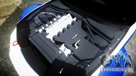 BMW M3 E46 GTR Most Wanted plate NFS Carbon для GTA 4 вид сбоку