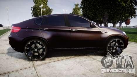 BMW X6M rims2 для GTA 4 вид слева