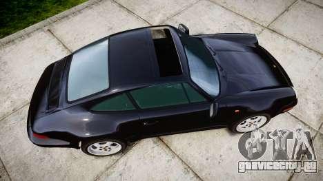 Porsche 911 (964) Coupe Razval для GTA 4 вид справа