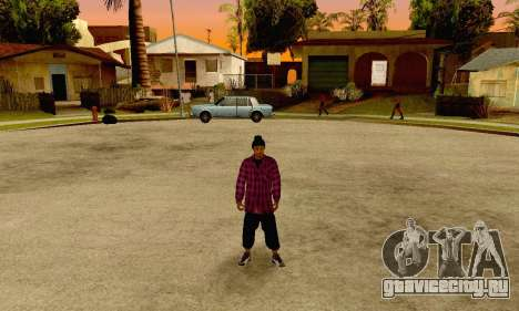The Ballas Gang Skin Pack для GTA San Andreas пятый скриншот