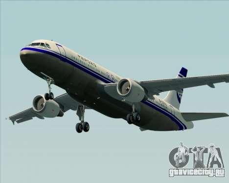 Airbus A320-200 CNAC-Zhejiang Airlines для GTA San Andreas двигатель