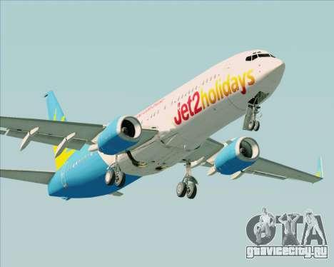 Boeing 737-800 Jet2Holidays для GTA San Andreas вид слева