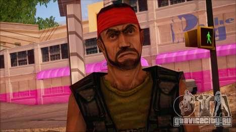 Guerilla from Counter Strike Condition Zero для GTA San Andreas третий скриншот