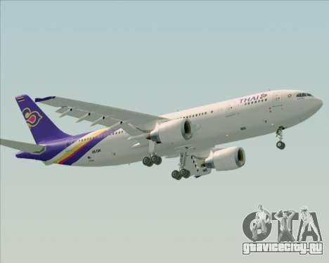 Airbus A300-600 Thai Airways International для GTA San Andreas вид слева