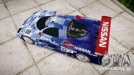 Nissan R390 GT1 1998 для GTA 4 вид справа