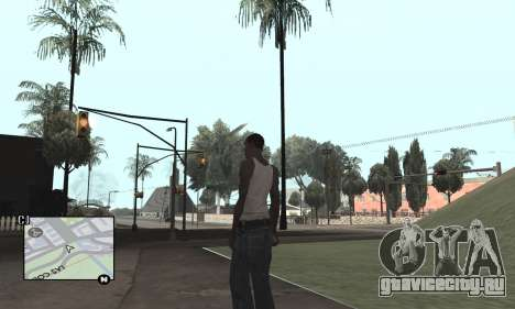Colormod by Tego Calderon для GTA San Andreas третий скриншот