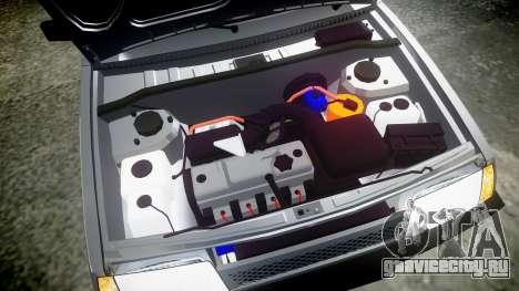 ВАЗ-2109 Девятка для GTA 4 вид сбоку