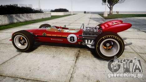 Lotus 49 1967 red для GTA 4 вид слева