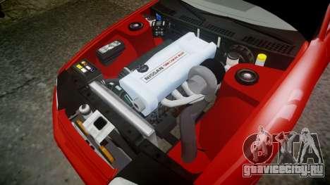 Nissan Skyline R32 GT-R для GTA 4 вид изнутри