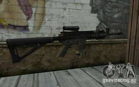 M4A1 from COD Modern Warfare 3 для GTA San Andreas второй скриншот