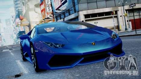 Lamborghini Huracan LP610-4 from Horizon 2 для GTA 4 вид слева