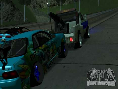 Nissan Skyline R34 EvilEmpire для GTA San Andreas вид справа