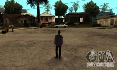 The Ballas Skin Pack для GTA San Andreas четвёртый скриншот
