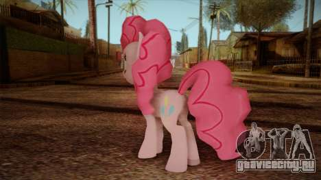 Pinkie Pie from My Little Pony для GTA San Andreas второй скриншот