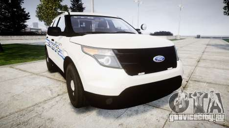 Ford Explorer 2013 [ELS] Liberty County Sheriff для GTA 4