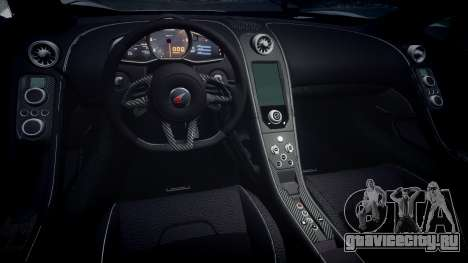 McLaren 650S Spider 2014 [EPM] v2.0 для GTA 4 вид изнутри