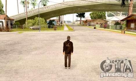 Varios Los Aztecas Gang Skin pack для GTA San Andreas второй скриншот