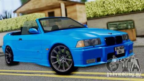BMW M3 E36 Cabrio для GTA San Andreas