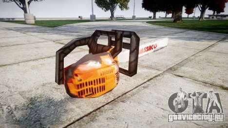 Скрипт -Бензопила- для GTA 4 второй скриншот