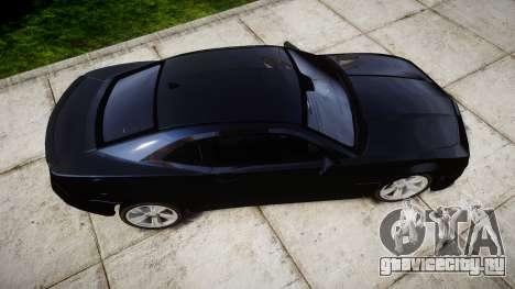 Chevrolet Camaro SS [ELS] Unmarked interceptors для GTA 4 вид справа