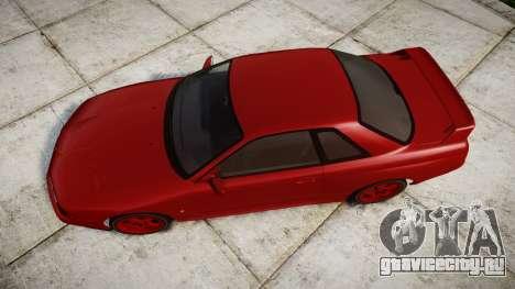 Nissan Skyline R32 GT-R для GTA 4 вид справа