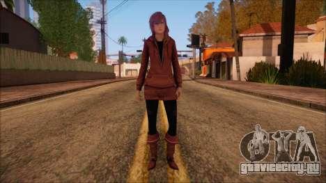 Modern Woman Skin 10 v2 для GTA San Andreas