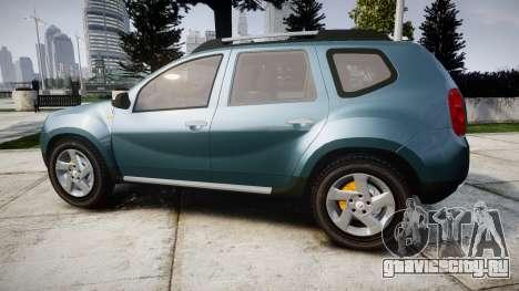 Dacia Duster 2013 для GTA 4 вид слева