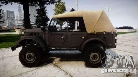 ГАЗ-69 для GTA 4 вид слева