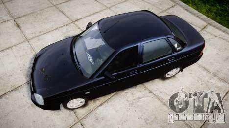 ВАЗ-2170 Lada Priora stock для GTA 4 вид справа