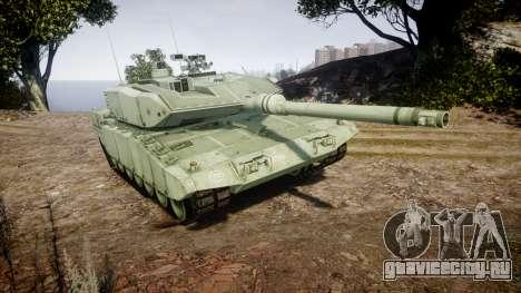 Leopard 2A7 GR Green для GTA 4