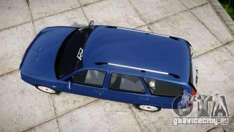 ВАЗ-2171 LADA Priora rims2 для GTA 4 вид справа