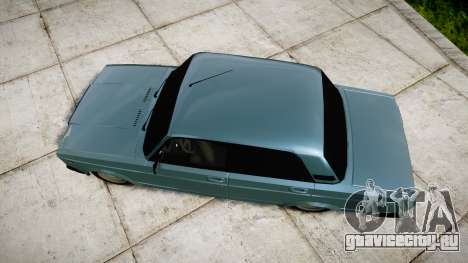 ВАЗ-2107 бункер для GTA 4 вид справа