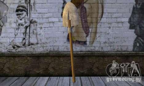 New Shovel для GTA San Andreas второй скриншот