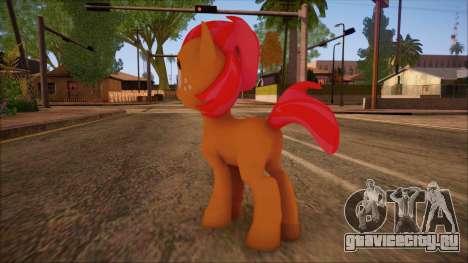 Babs Seed from My Little Pony для GTA San Andreas второй скриншот