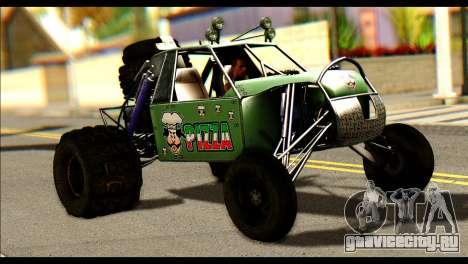 Buggy Fireball from Fireburst для GTA San Andreas