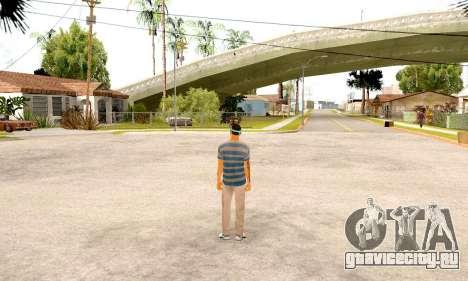 Varios Los Aztecas Gang Skin pack для GTA San Andreas четвёртый скриншот